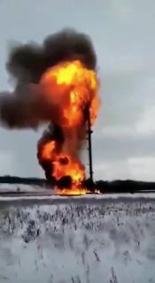 煙突に引火からの大炎上