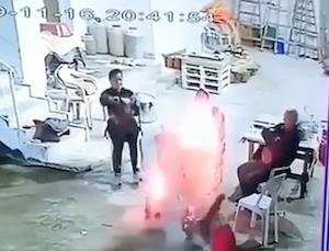 突然のコンクリート大爆発