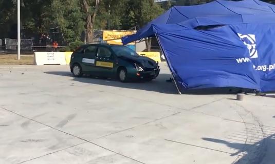 ある意味失敗な車の衝突実験