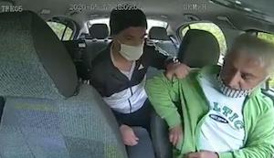 タクシー強盗一部始終