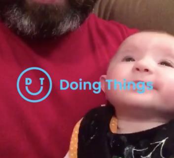 ビートボックスする赤ちゃん