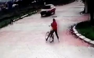 スピード出しすぎな自転車