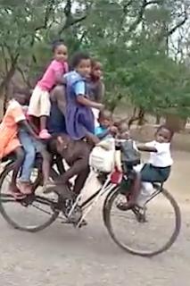 乗りすぎな自転車